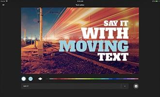 iOS Motion Titles