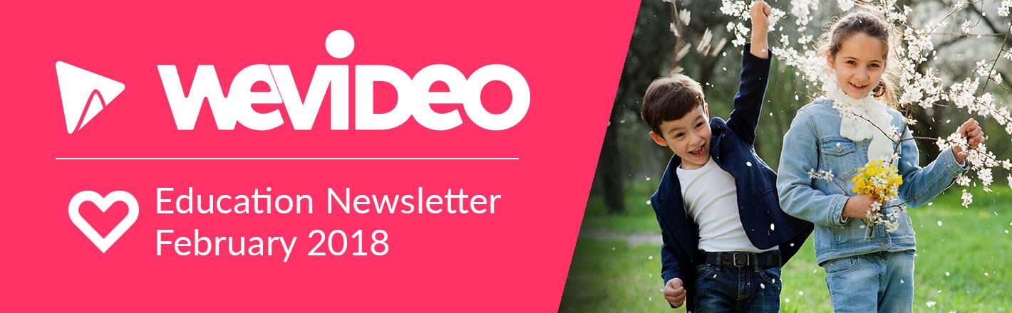 WeVideo Education Newsletter